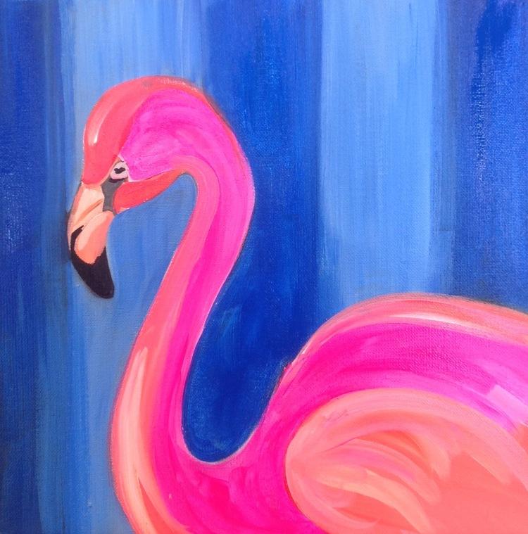 Snazzy Flamingo