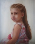 Emma, 12 by 16 oil